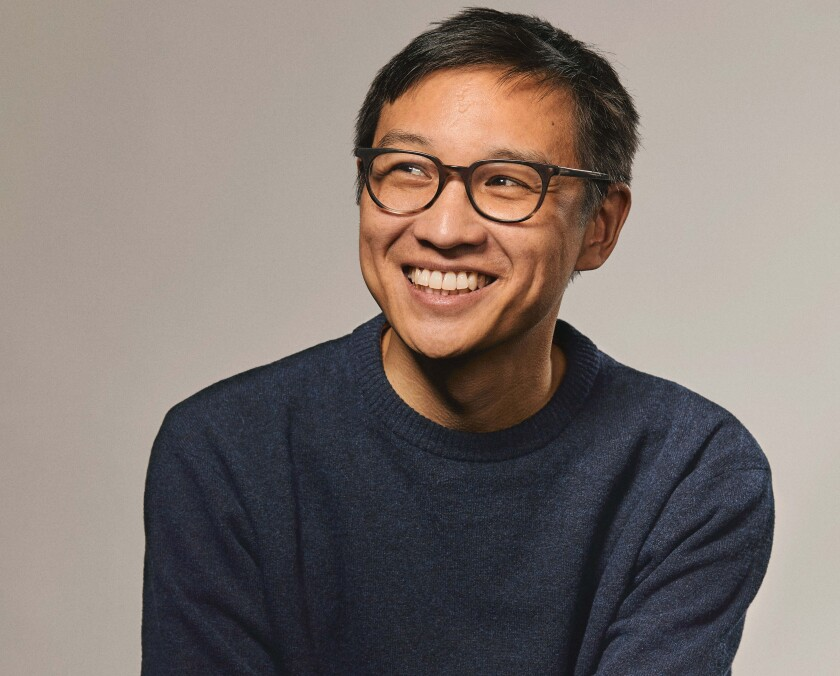 "Kevin Nguyen, author of ""New Waves."""