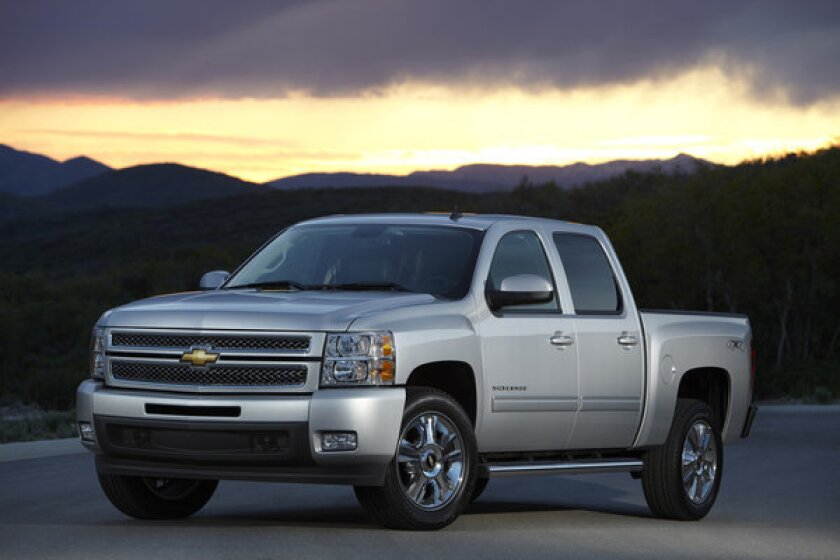 The 2013 Chevy Silverado is one of the trucks and SUVs recalled by General Motors for an issue with the steering column.