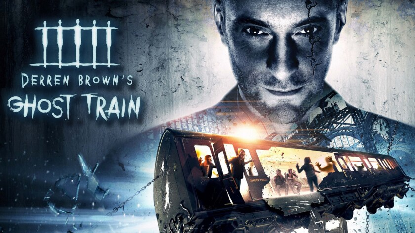 Derren Brown's Ghost Train is coming to Thorpe Park in the United Kingdom.