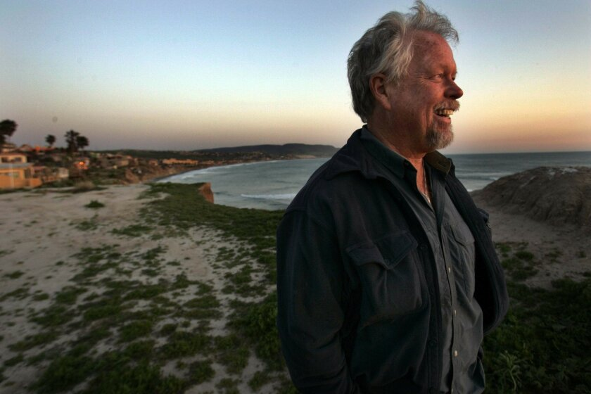 Jamie Reynolds, a 63-year-old retiree who lives in the El Pescador area, watched the sun set. Reynolds, like four out of five of the retiree-study respondents, owns his home in Mexico.