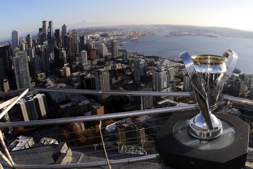 MLS Cup Shining Seattle Soccer