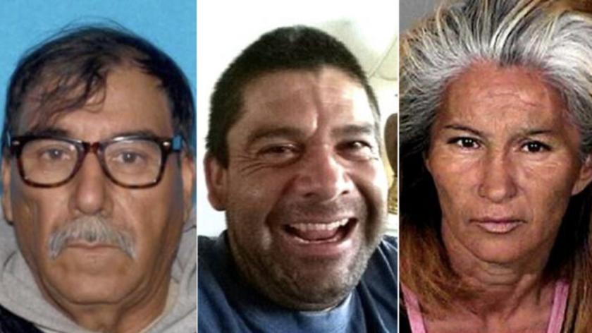 José Lara, de 65 años; Cuauhtemoc Lara, 39; y Julieta Arvizu,