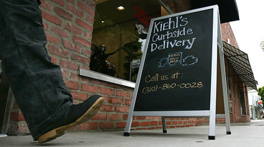 Like Kitson and Jonathan Adler, Kiehl's offers curbside delivery, which means buying moisturizers and soaps is easier than ever.