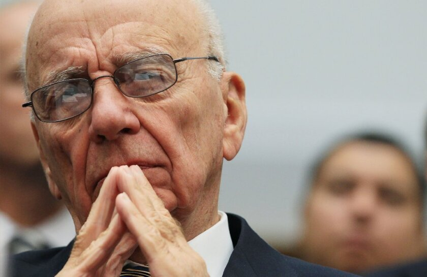 Rupert Murdoch, chief executive of 21st Century Fox