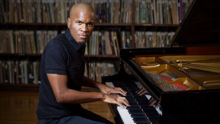 Pianist Joshua White and his band trio will perform Saturday at the all-ages Dizzy's.
