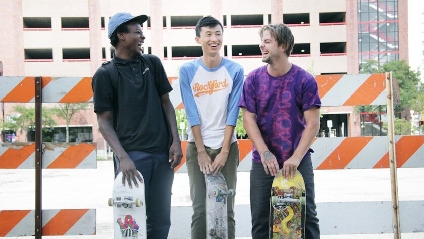 Minding The Gap- Compiling over 12 years of footage shot in his hometown of Rockford, IL, in MINDING