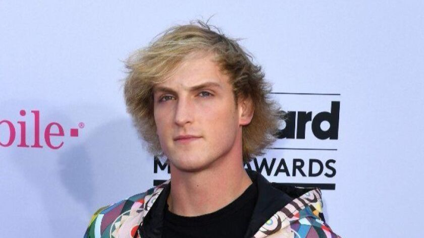 Logan Paul arrives at the 2017 Billboard Music Awards in Las Vegas, Nevada, on May 21. The YouTube celebrity apologized Tuesday for a video he posted on YouTube.