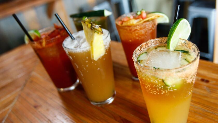 The Mexican drink michelada is beer with benefits - Los Angeles Times