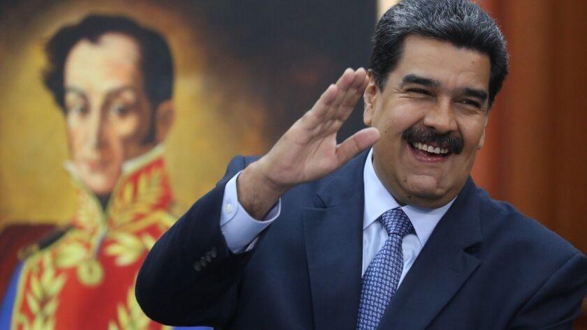 who is president of venezuela