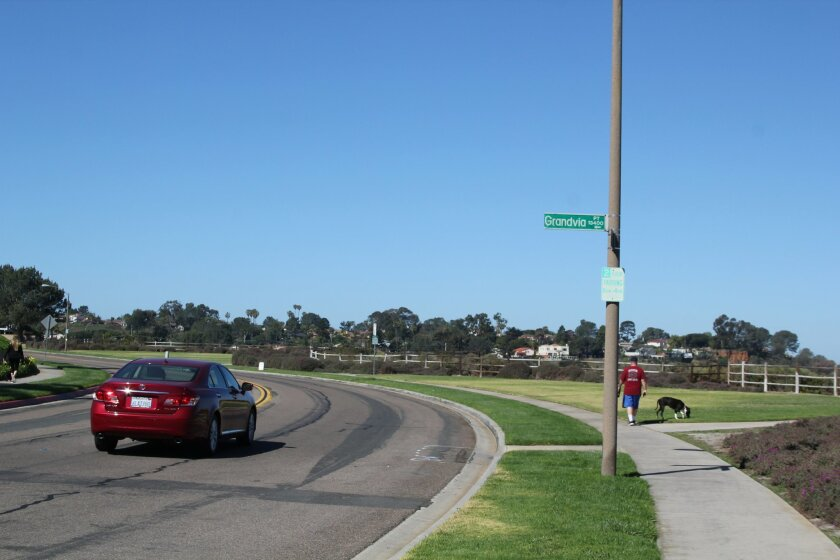 The Carmel Valley Community Planning Board approved a stop sign at the intersection of High Bluff Drive and Grandvia Point near Overlook Park.