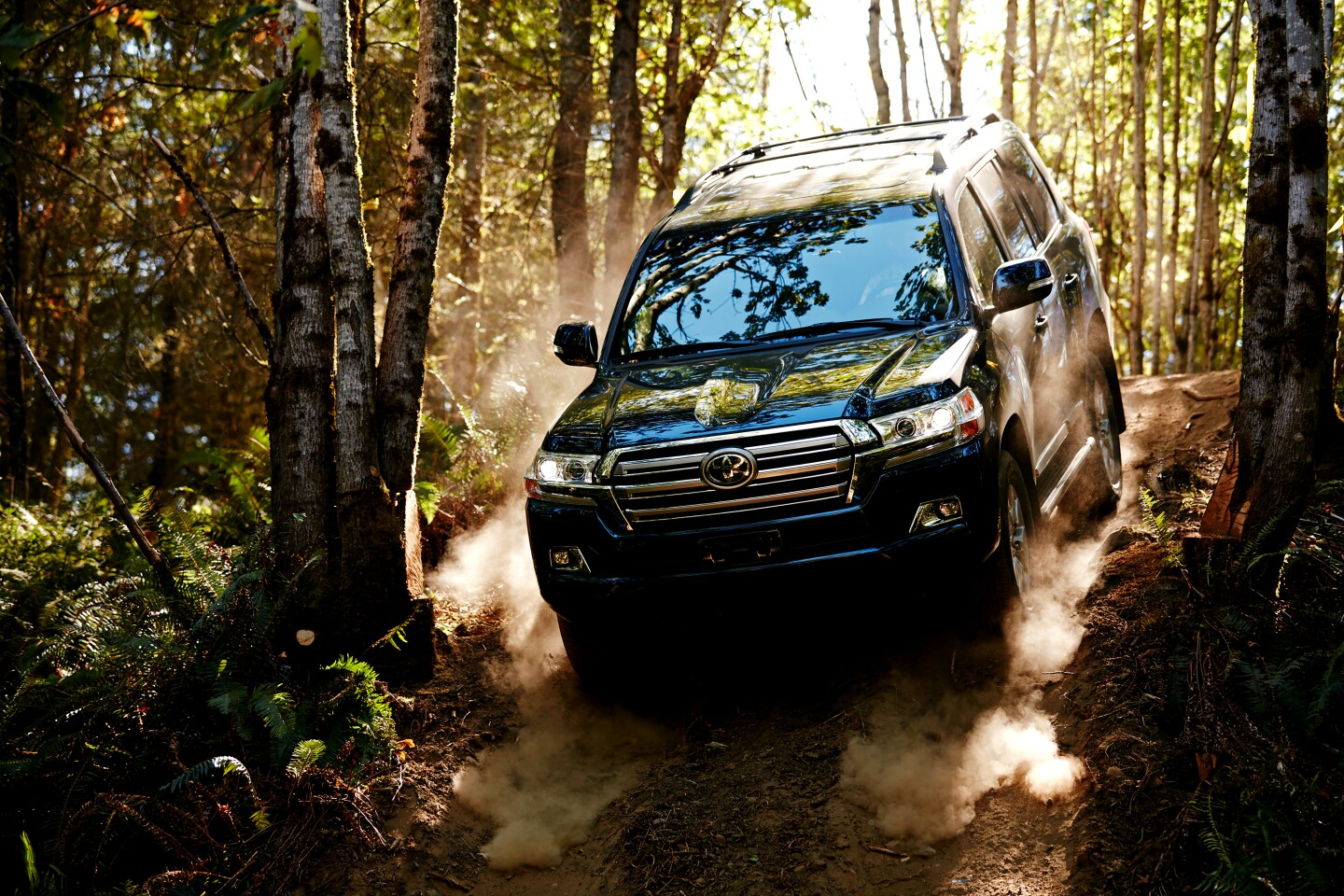 The 2020 Toyota Land Cruiser: All the comforts of home, and big as a house