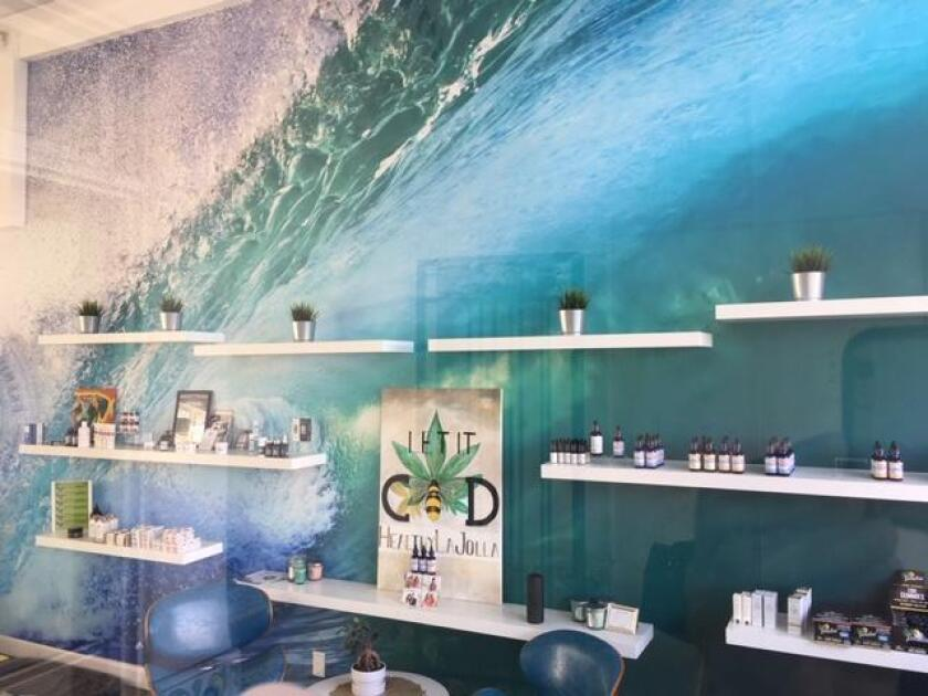 Lifely Wellness in La Jolla offers a variety of CBD oil products.