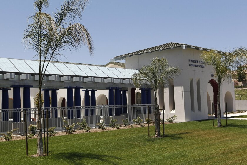 Enrique S. Camarena Elementary School opens to 900 students on July 24. It is the first new campus in the Chula Vista Elementary School District since 2007.