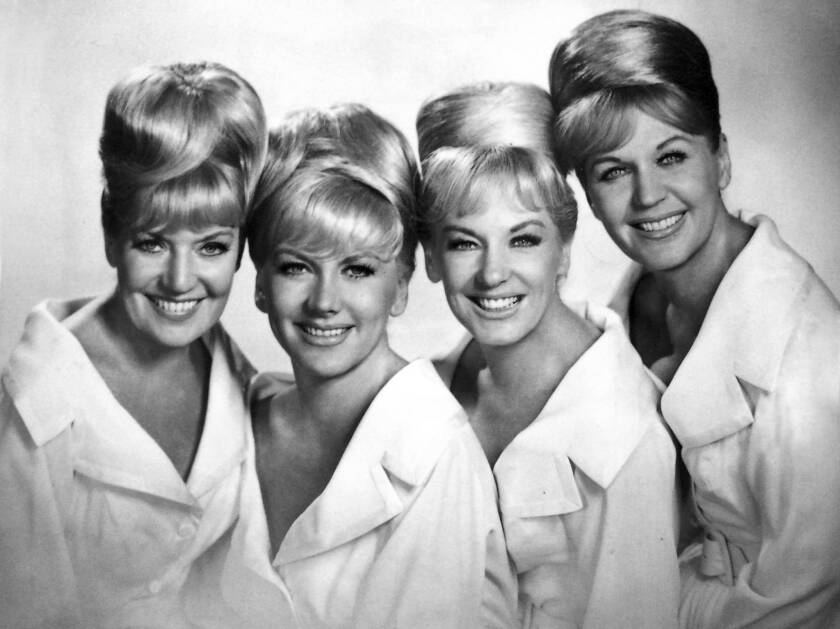 Marilyn King sang with the King Sisters
