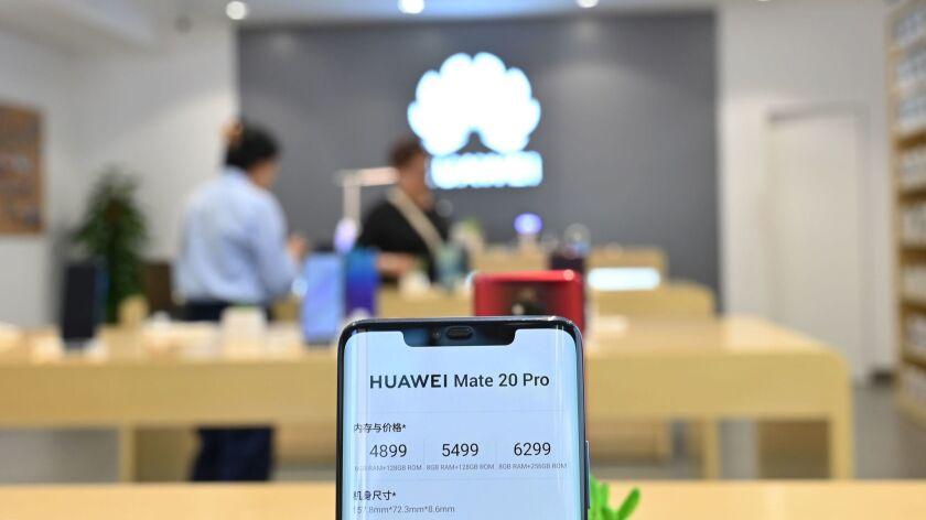 CHINA-ECONOMY-HUAWEI