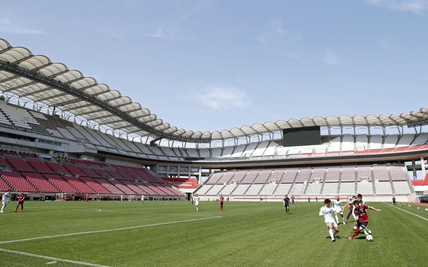 Japan Soccer Restart