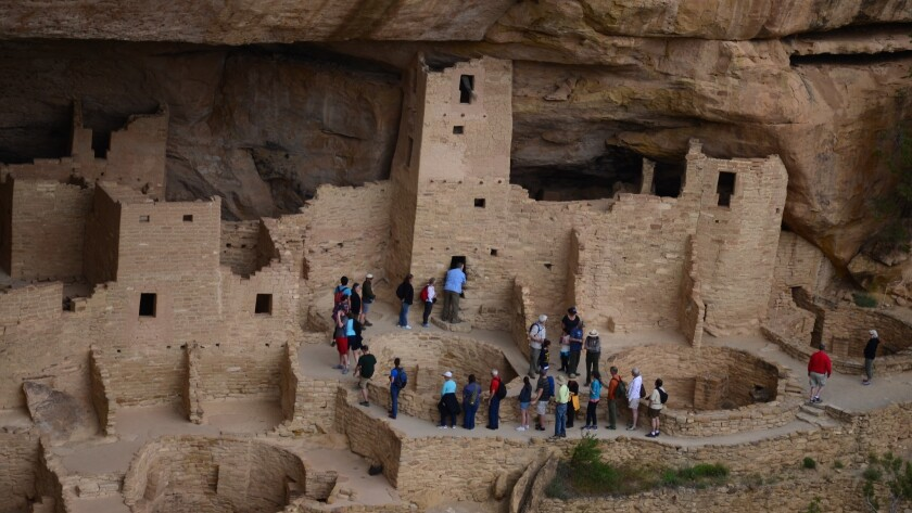 Colorado's Mesa Verde National Park includes many remarkable cliff dwellings. If you're up for a little climbing, you can explore them via stairs and ladders.