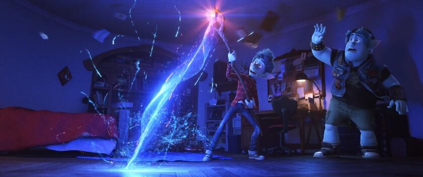 "A scene from Pixar's ""Onward"""