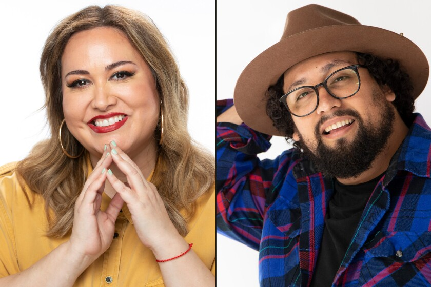 Tanya Saracho and Marvin Lemus