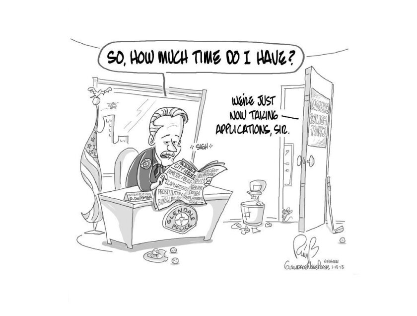 News-Press Cartoon: De Pompa counting down the days