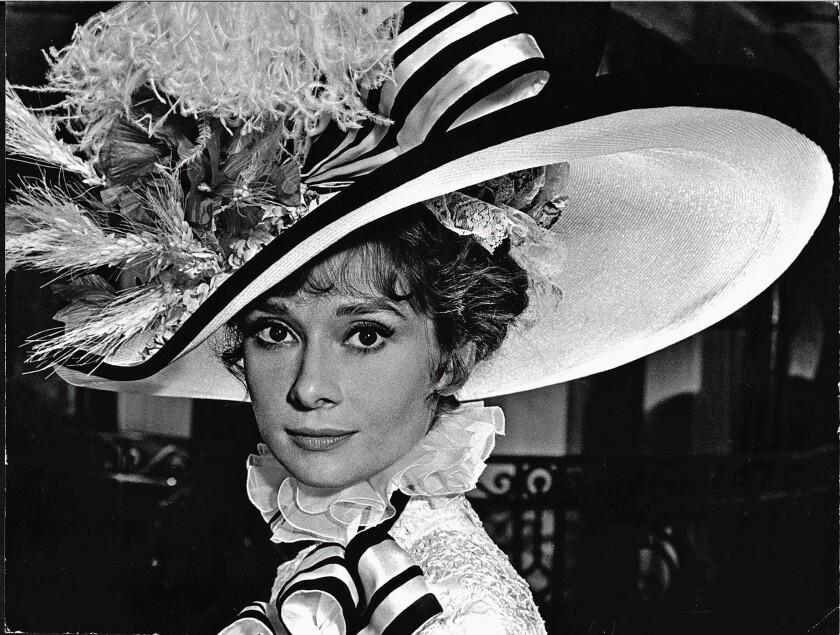 "Audrey Hepburn as Eliza Doolittle in the Oscar¿winning film ""My Fair Lady."""