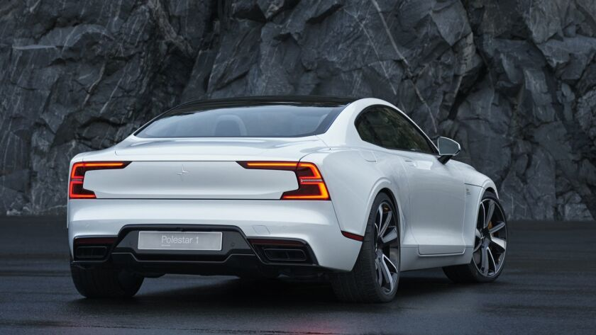 Volvo's Polestar plans subscriptions, stores to push its new electric luxury cars