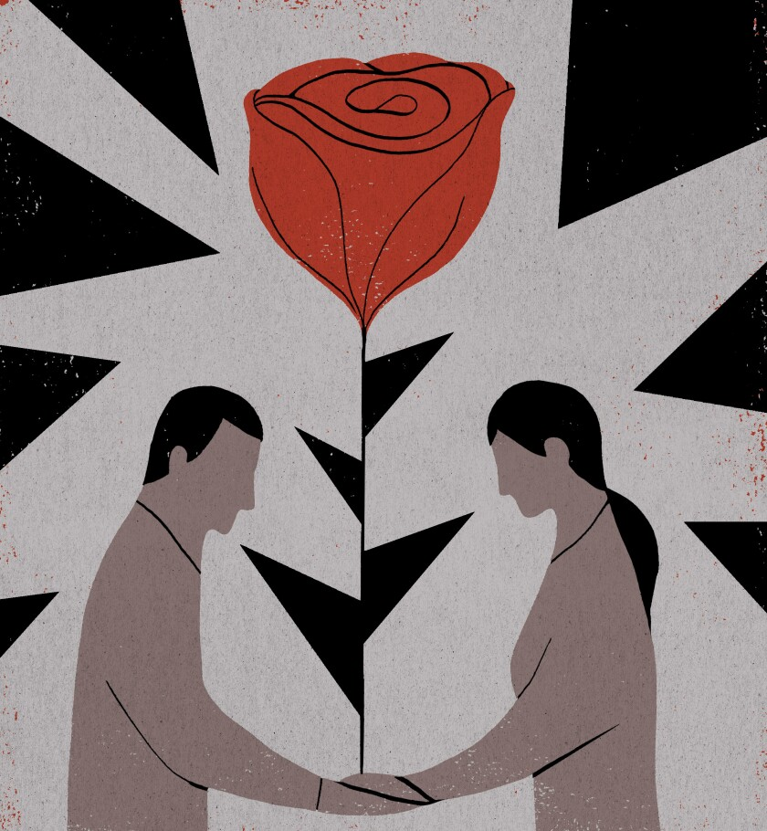Op-Ed: Fear and romance for people without papers