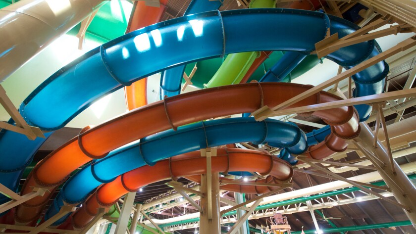 Great Wolf Lodge delivers water park fun with 0% chance of weather
