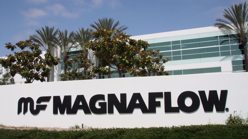 Magnaflow headquarters, in Oceanside, Calif., is comprised of two buildings that cover 375,000 squar