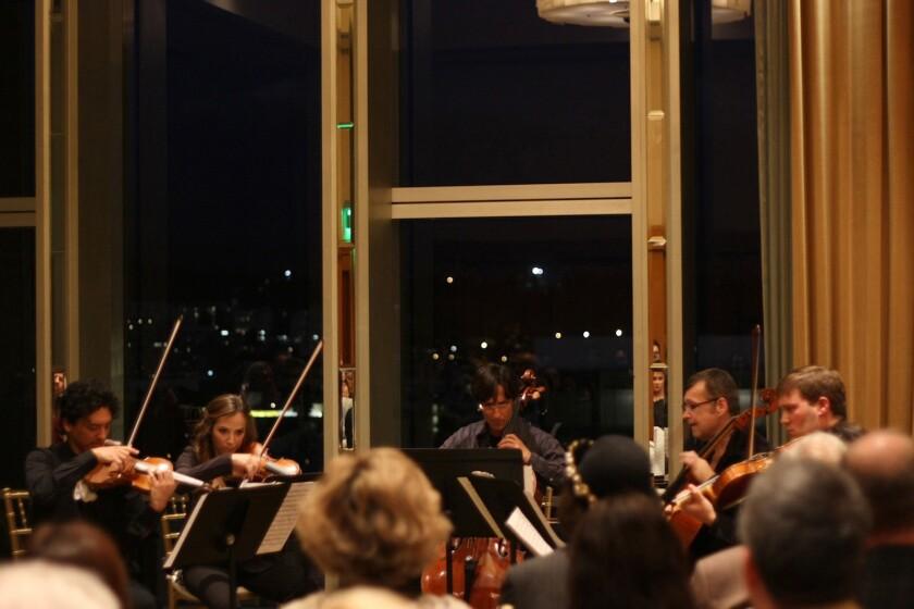 Le Salon de Musiques in the 5th Floor Salon at the Dorothy Chandler Pavilion