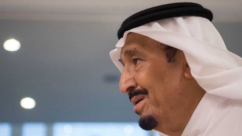 Saudi King Salman ordered the arrest of a prince after video emerged online purporting to show him abusing people.