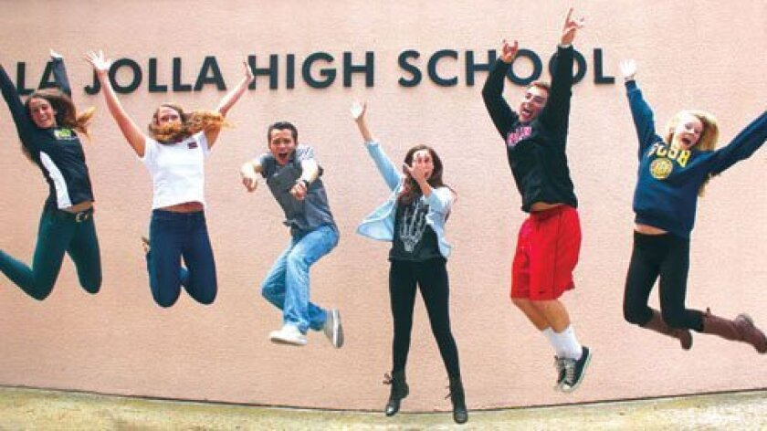 Karly Zlatic, Erin Riley, Daniel Hamilton, Lauren Robertson, Dylan Walsh and Margaret Haerr are optimistic about their futures. Photos by Ashley Mackin