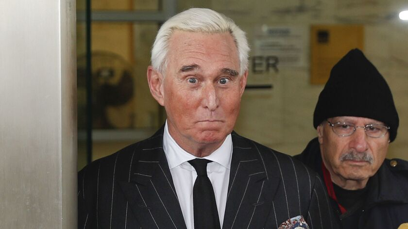 Roger Stone — confidant and former campaign advisor to President Trump — posted a photograph of a federal judge who imposed a gag order on him to his Instagram page and included her name and what appeared to be the crosshairs of a gun sight near her head.