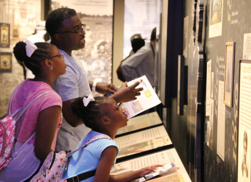 Southern museums confront racism