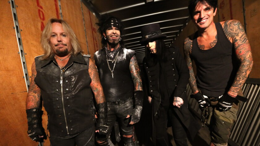 Celebrity portraits by The Times | Motley Crue