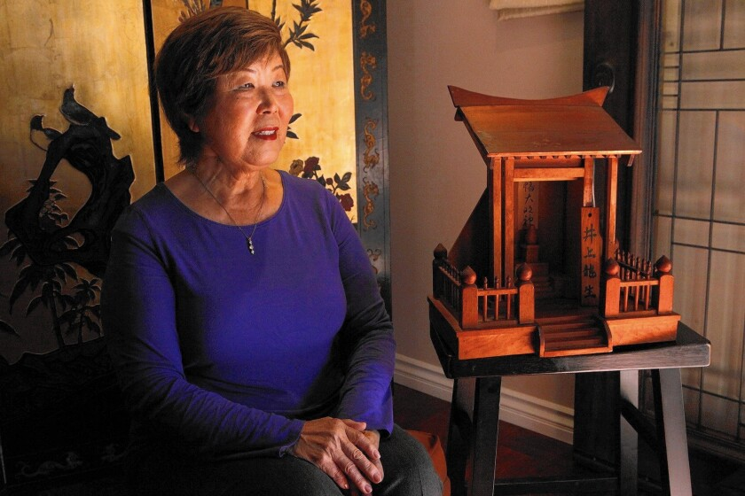 Nancy Oda, who was born in an internment camp, fought to block the auction of historic items.