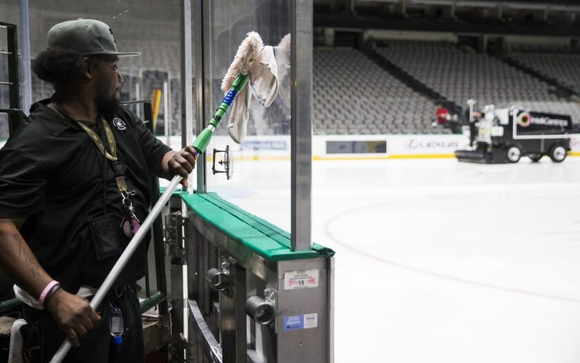 Virus Outbreak NHL Hockey