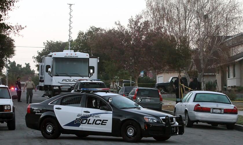 Burbank police investigate Richard Street homicide