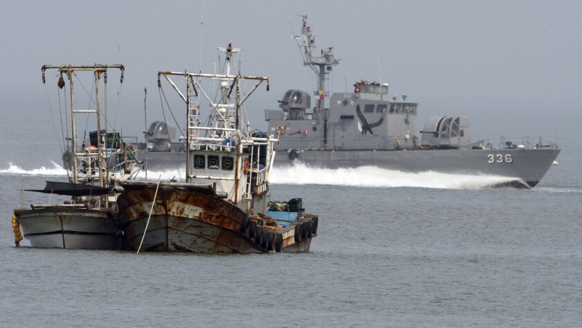 South Korea Koreas North Korean Boat