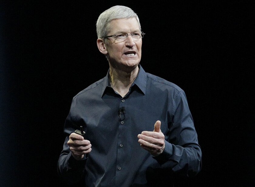 """Apple CEO Tim Cook says that so-called """"religious objection"""" legislation being introduced in a number states like Indiana and Texas is dangerous."""