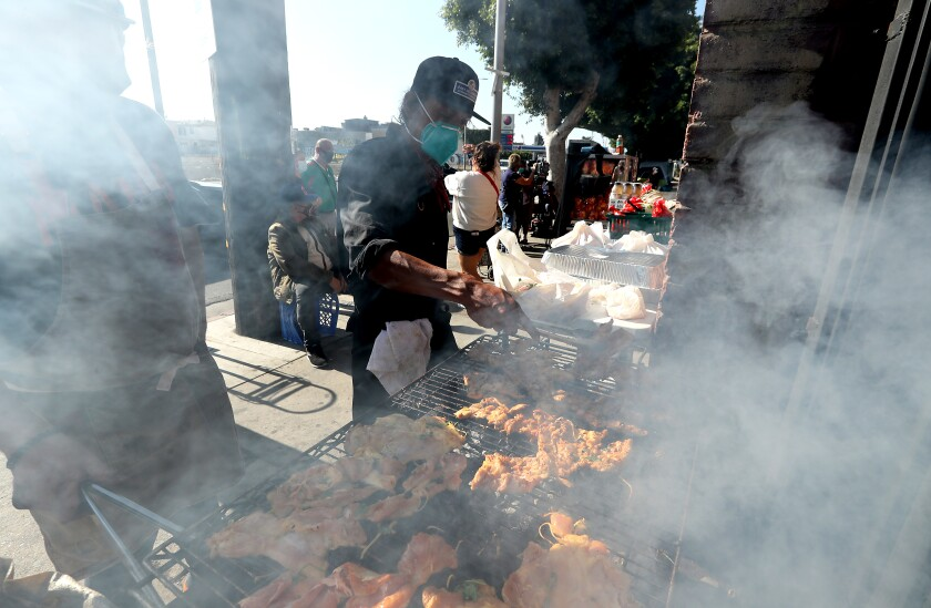 East Hollywood Community Cookout