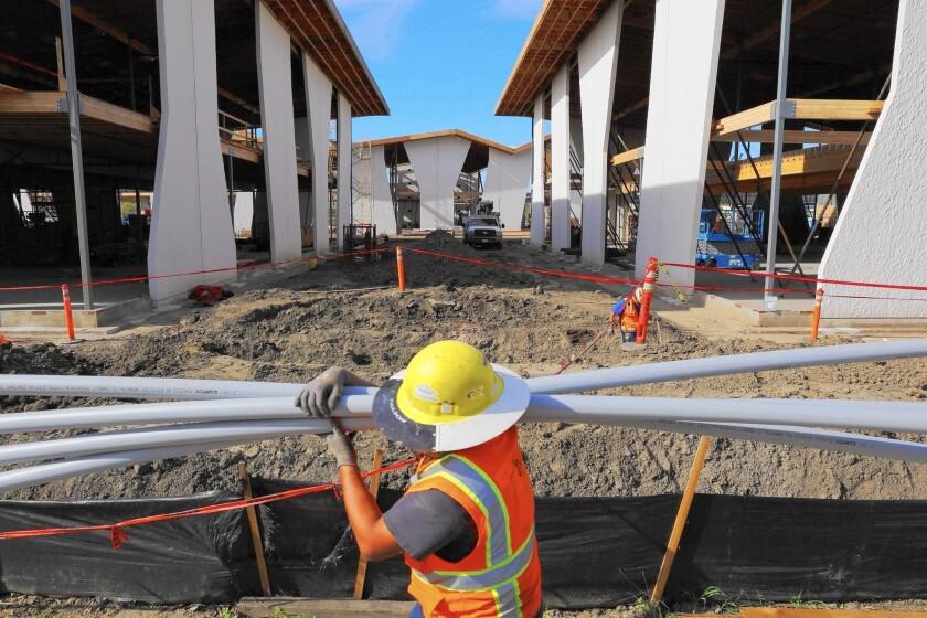 Playa Vista construction
