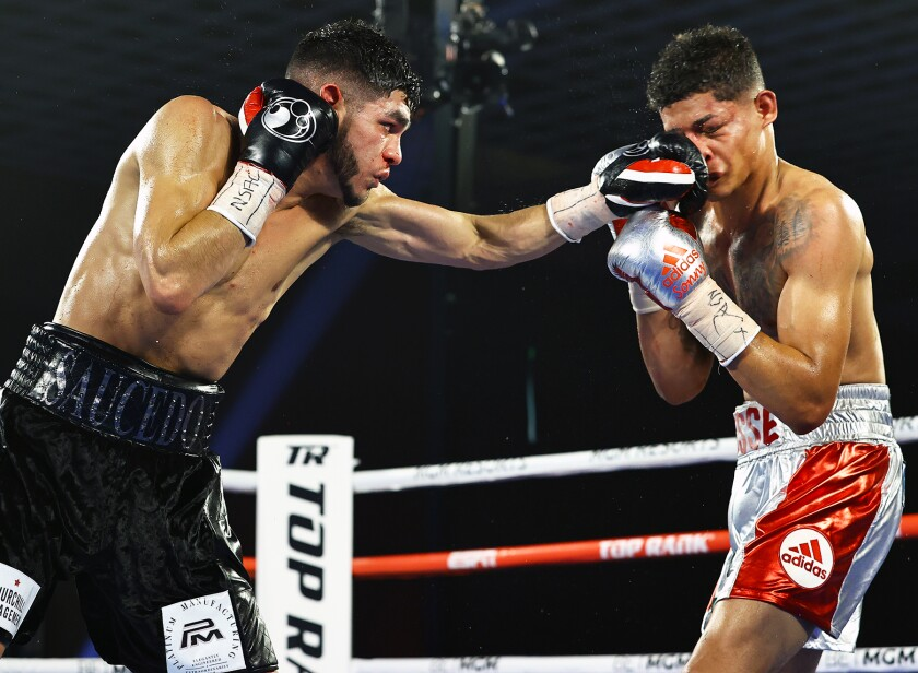 Alex Saucedo vs. Sonny Fredrickson.