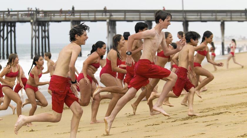 The Junior Lifeguards