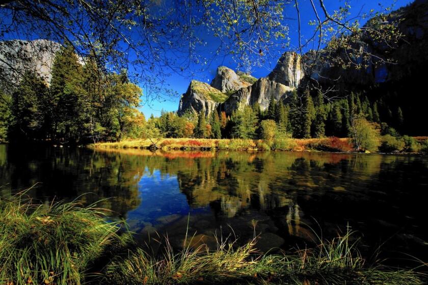 Yosemite National Park's Bridalveil Fall.
