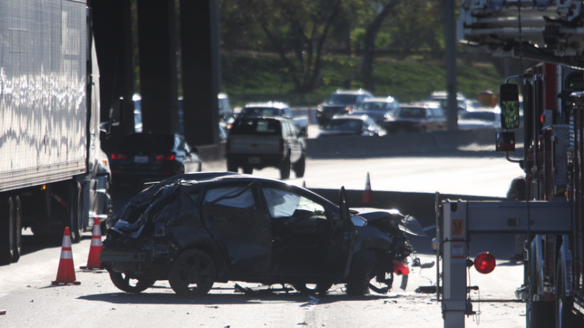 A 20-year-old Burbank man was killed in a crash on Friday, Oct. 30 fter he was ejected from his car onto a freeway sign on the Golden State (5) Freeway in Glendale.