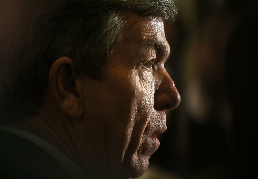 A move by Sen. Roy Blunt (R-Mo.) could delay a vote on President Obama's nominee to lead the EPA.