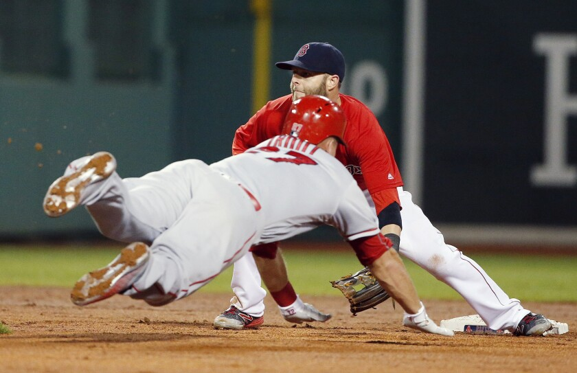 Dustin Pedroia, Mike Trout