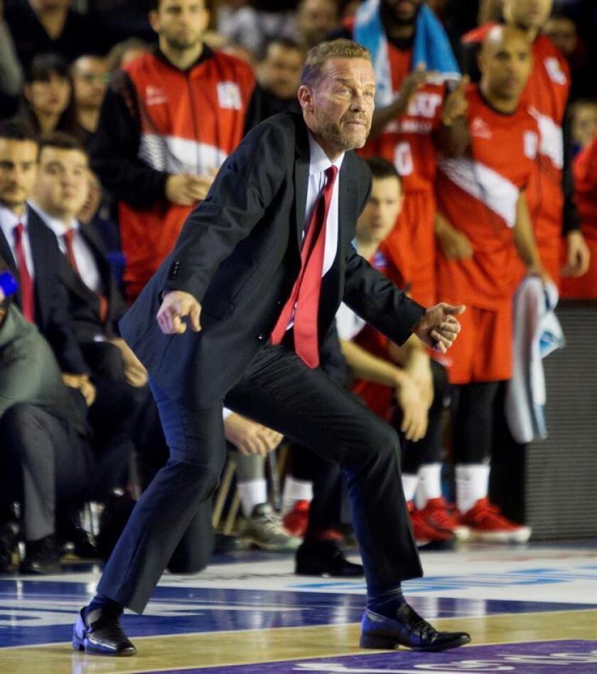 """Néstor """"Che"""" García, entrenador argentino de la selección de República Dominicana. EFE/Archivo"""