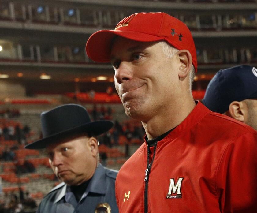 Maryland head football coach DJ Durkin has been fired.